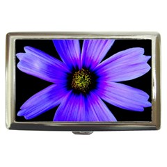Purple Bloom Cigarette Money Case