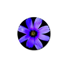 Purple Bloom Golf Ball Marker 4 Pack