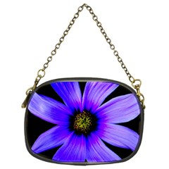 Purple Bloom Chain Purse (two Sided)