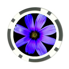 Purple Bloom Poker Chip (10 Pack)