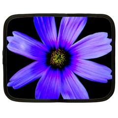 Purple Bloom Netbook Sleeve (xxl)