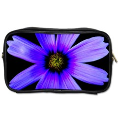Purple Bloom Travel Toiletry Bag (Two Sides)
