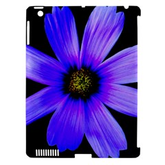 Purple Bloom Apple Ipad 3/4 Hardshell Case (compatible With Smart Cover)