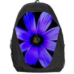 Purple Bloom Backpack Bag
