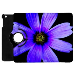 Purple Bloom Apple iPad Mini Flip 360 Case