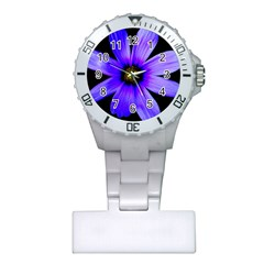 Purple Bloom Nurses Watch