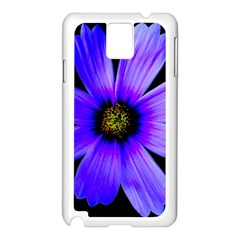 Purple Bloom Samsung Galaxy Note 3 N9005 Case (White)