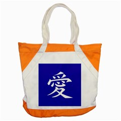 Love in Japanese Accent Tote Bag