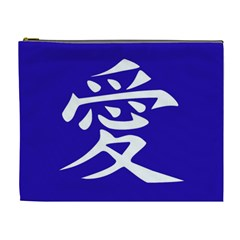 Love In Japanese Cosmetic Bag (xl)