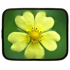 Yellowwildflowerdetail Netbook Sleeve (XXL)