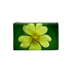 Yellowwildflowerdetail Cosmetic Bag (small)