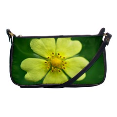 Yellowwildflowerdetail Evening Bag