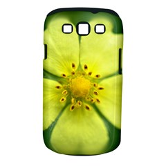 Yellowwildflowerdetail Samsung Galaxy S III Classic Hardshell Case (PC+Silicone)