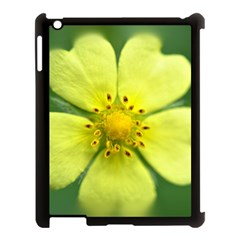 Yellowwildflowerdetail Apple iPad 3/4 Case (Black)
