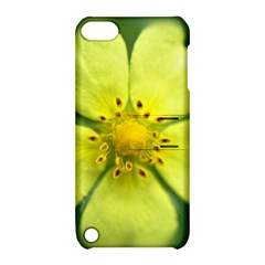 Yellowwildflowerdetail Apple iPod Touch 5 Hardshell Case with Stand