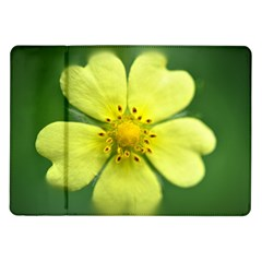 Yellowwildflowerdetail Samsung Galaxy Tab 10.1  P7500 Flip Case