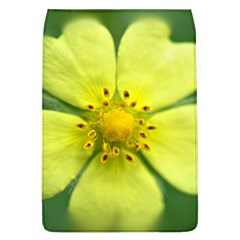 Yellowwildflowerdetail Removable Flap Cover (large)