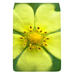 Yellowwildflowerdetail Removable Flap Cover (Small)