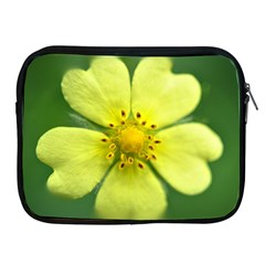 Yellowwildflowerdetail Apple iPad Zippered Sleeve