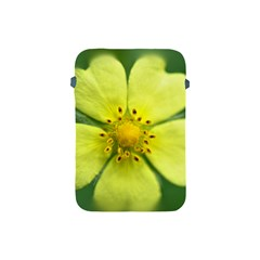 Yellowwildflowerdetail Apple Ipad Mini Protective Sleeve