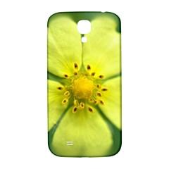 Yellowwildflowerdetail Samsung Galaxy S4 I9500/I9505  Hardshell Back Case