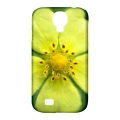 Yellowwildflowerdetail Samsung Galaxy S4 Classic Hardshell Case (PC+Silicone)