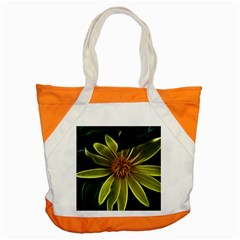 Yellow Wildflower Abstract Accent Tote Bag