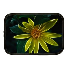 Yellow Wildflower Abstract Netbook Sleeve (medium)