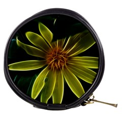 Yellow Wildflower Abstract Mini Makeup Case