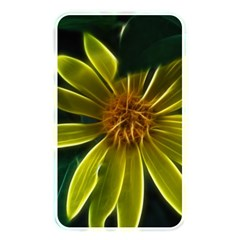 Yellow Wildflower Abstract Memory Card Reader (rectangular)
