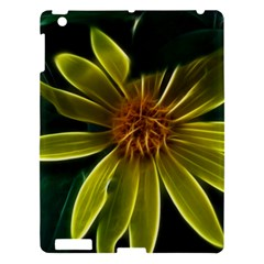 Yellow Wildflower Abstract Apple iPad 3/4 Hardshell Case