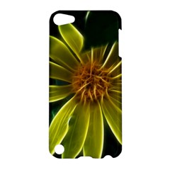 Yellow Wildflower Abstract Apple iPod Touch 5 Hardshell Case