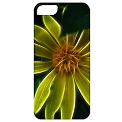 Yellow Wildflower Abstract Apple Iphone 5 Classic Hardshell Case