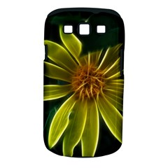 Yellow Wildflower Abstract Samsung Galaxy S III Classic Hardshell Case (PC+Silicone)