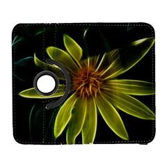 Yellow Wildflower Abstract Samsung Galaxy S  III Flip 360 Case