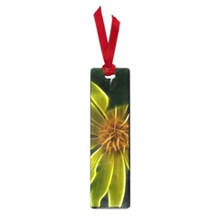 Yellow Wildflower Abstract Small Bookmark