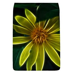 Yellow Wildflower Abstract Removable Flap Cover (large)