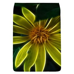 Yellow Wildflower Abstract Removable Flap Cover (Small)