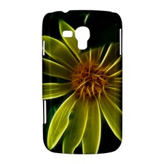 Yellow Wildflower Abstract Samsung Galaxy Duos I8262 Hardshell Case