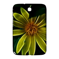 Yellow Wildflower Abstract Samsung Galaxy Note 8.0 N5100 Hardshell Case