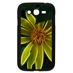 Yellow Wildflower Abstract Samsung Galaxy Grand DUOS I9082 Case (Black)