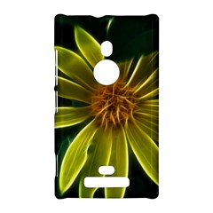 Yellow Wildflower Abstract Nokia Lumia 925 Hardshell Case