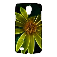 Yellow Wildflower Abstract Samsung Galaxy S4 Active (I9295) Hardshell Case