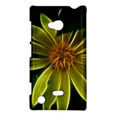Yellow Wildflower Abstract Nokia Lumia 720 Hardshell Case