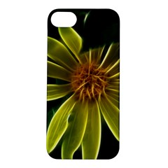 Yellow Wildflower Abstract Apple Iphone 5s Hardshell Case