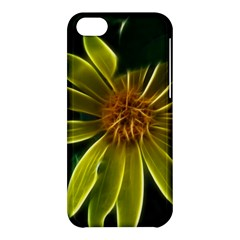Yellow Wildflower Abstract Apple iPhone 5C Hardshell Case
