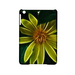 Yellow Wildflower Abstract Apple iPad Mini 2 Hardshell Case