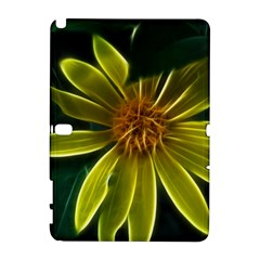 Yellow Wildflower Abstract Samsung Galaxy Note 10.1 (P600) Hardshell Case