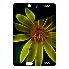 Yellow Wildflower Abstract Kindle Fire Hd 7  (2nd Gen) Hardshell Case