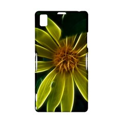 Yellow Wildflower Abstract Sony Xperia Z1 L39H Hardshell Case